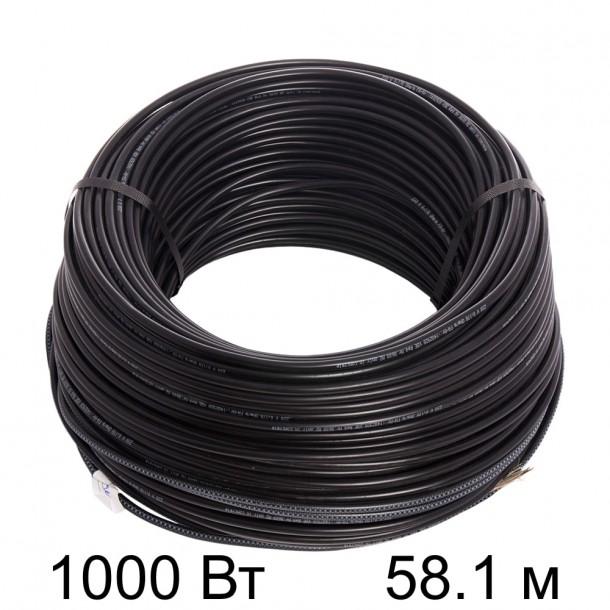 Двужильный кабель HEMSTEDT BR-IM 17Вт/м  58,1м  1000 Вт
