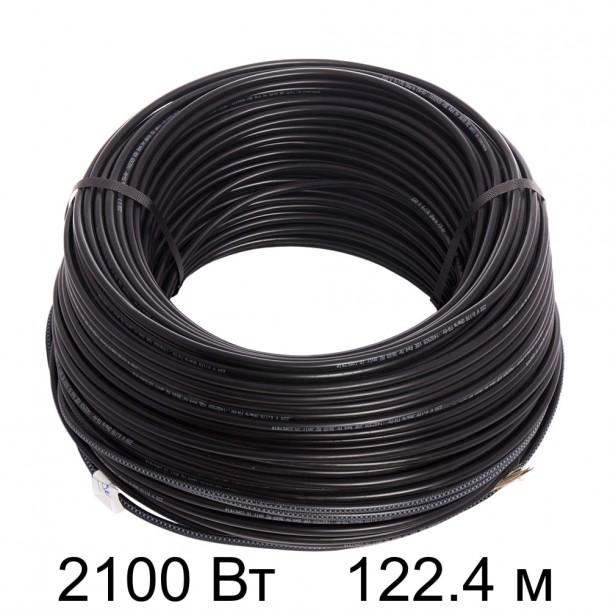 Двужильный кабель HEMSTEDT BR-IM 17Вт/м 122,4м 2100 Вт
