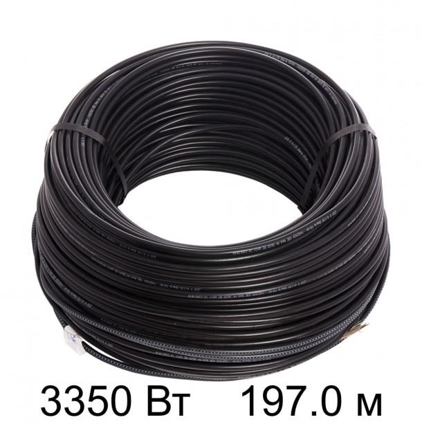 Двужильный кабель HEMSTEDT BR-IM 17Вт/м 192,9м 3300 Вт