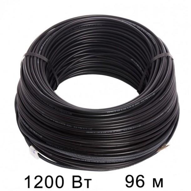Двужильный тонкий кабель HEMSTEDT 12.5 Вт/м DR  96