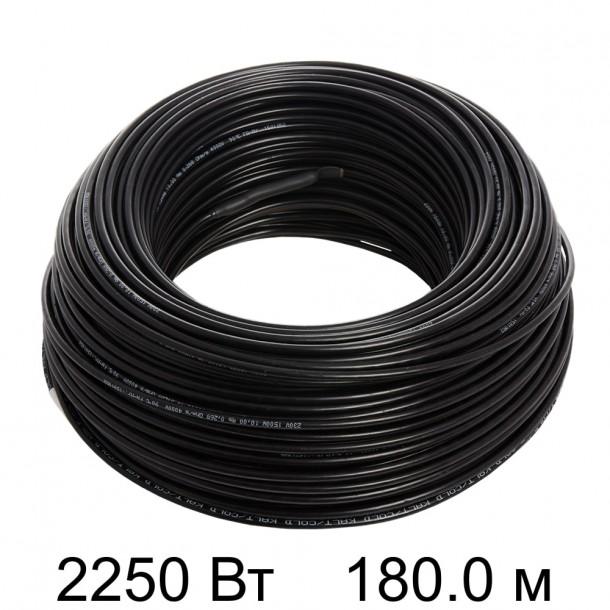 Двужильный тонкий кабель HEMSTEDT 12.5 Вт/м DR 180