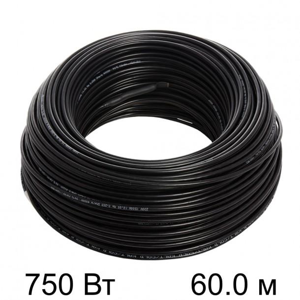 Двужильный тонкий кабель HEMSTEDT 12.5 Вт/м DR  60