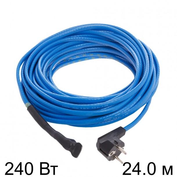 Двужильный кабель HEMSTEDT 10 Вт/м FS 24