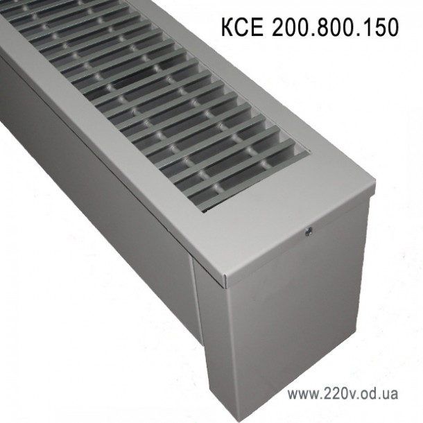 Напольный конвектор КСЕ 200.800.150