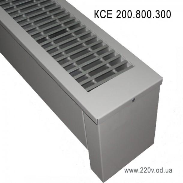 Напольный конвектор КСЕ 200.800.300