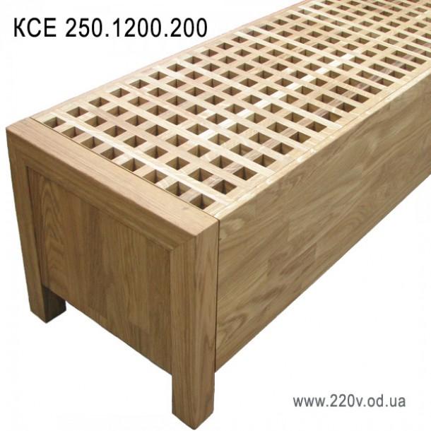 Напольный конвектор КСЕ 250.1200.200