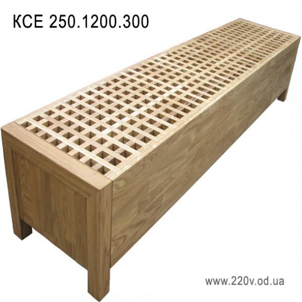 Напольный конвектор КСЕ 250.1200.300