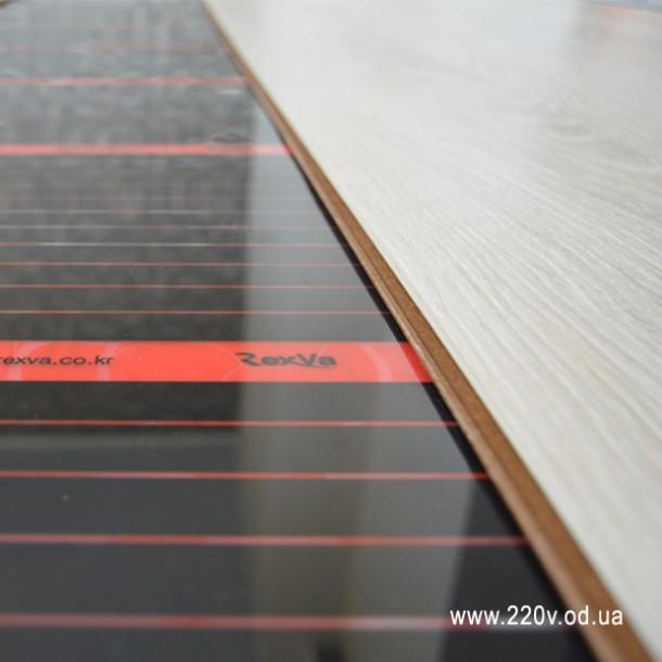 Инфракрасный пленочный теплый пол RexVa 0.5м