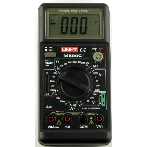 Мультиметр UNI-T M890C+