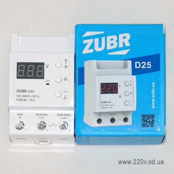 Защита по напряжению Zubr D25