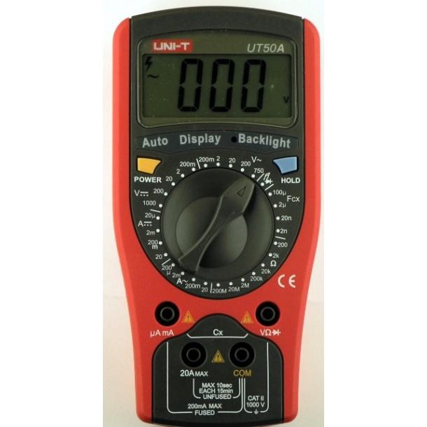 мультиметрUT50A